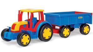 Wader Traktor Gigant z Przyczepą - 66100 - 2847732497