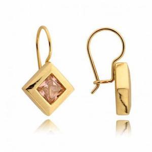 Kolczyki złote z cyrkoniami N61K