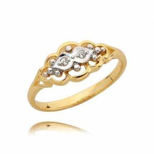 Pierścionek złoty N22