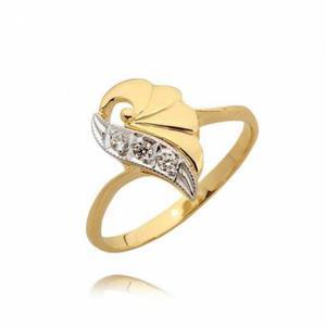 Ładny pierścionek zaręczynowy N34