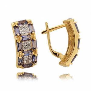 Złote kolczyki N336K