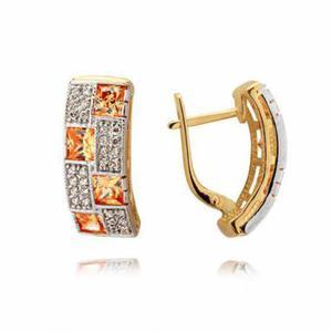 Złote kolczyki N365K