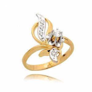 Elegancki pierścionek z cyrkonią