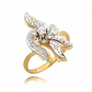 Ślicznie zdobiony pierścionek