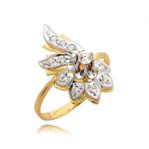 Cudowny pierścionek bogato zdobiony