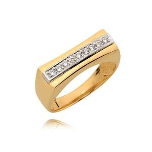 Ładny skromny pierścionek