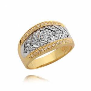 Piękny pierścionek z cyrkoniami N304