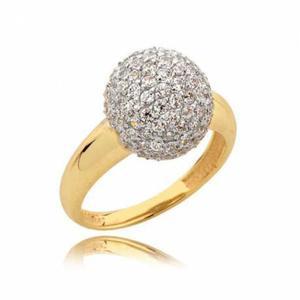 Złoty pierścionek N322