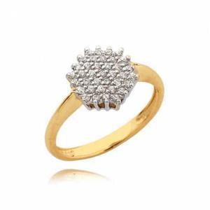 Złoty pierścionek N323