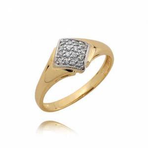 Złoty pierścionek N341
