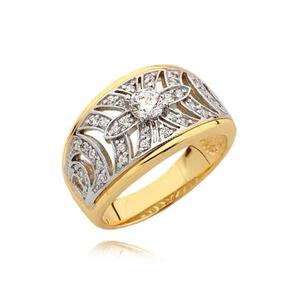 Złoty pierścionek N345
