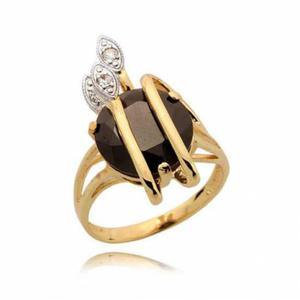 Złoty pierścionek N351