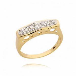 Złoty pierścionek PB45