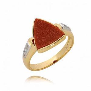 Złoty pierścionek PB57