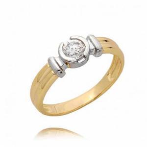 Złoty pierścionek PB58