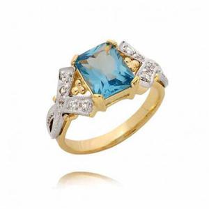 Złoty pierścionek PB66