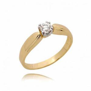 Złoty pierścionek PB72