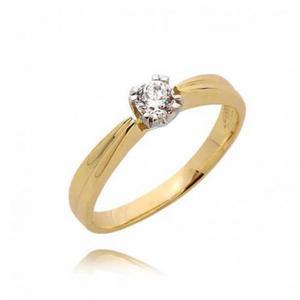 Złoty pierścionek PB74