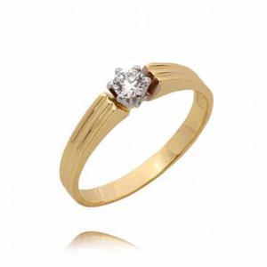 Złoty pierścionek PB76