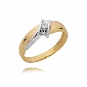 Złoty pierścionek PB82