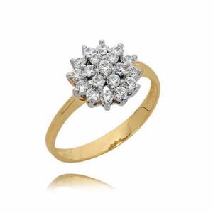 Złoty pierścionek PB86