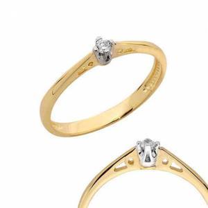 Złoty pierścionek PB102