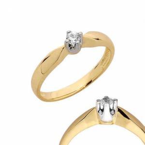 Złoty pierścionek PB113