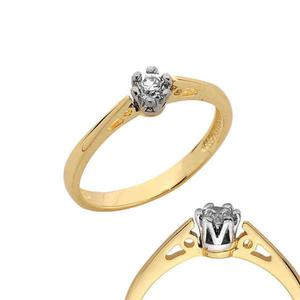 Złoty pierścionek PB120