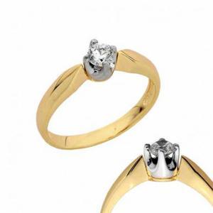 Złoty pierścionek PB133