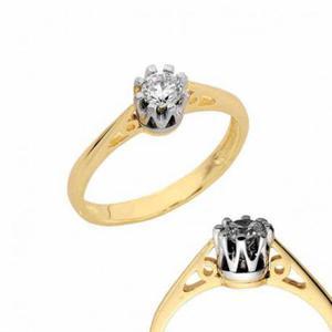 Złoty pierścionek PB142