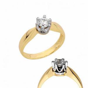 Złoty pierścionek PB144