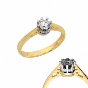 Złoty pierścionek PB151