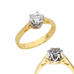 Złoty pierścionek PB159