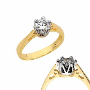 Złoty pierścionek PB160