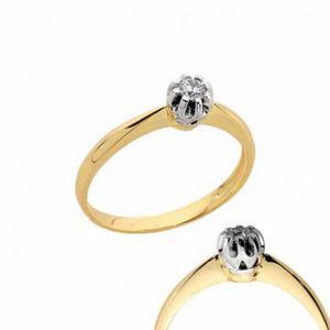 Złoty pierścionek PB165