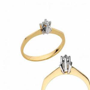 Złoty pierścionek PB173