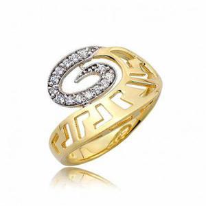 Złoty pierścionek PB252