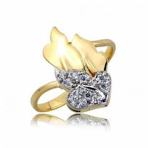 Złoty pierścionek PB257