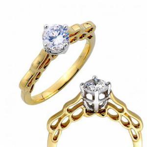 Złoty pierścionek PB260