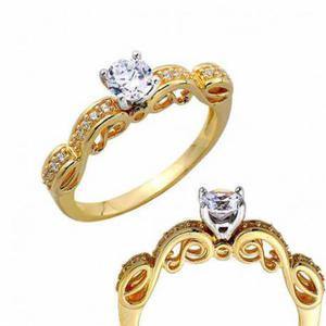 Złoty pierścionek PB265