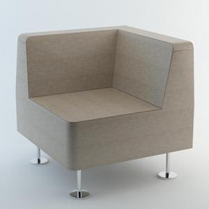 Fotel narożny 32 WALL IN - do łączenia z 2 ściankami - 2823198572