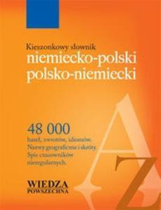 Kieszonkowy słownik niemiecko polski polsko niemiecki - 2825704748
