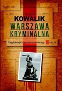 Warszawa kryminalna - 2825704900