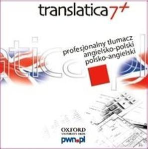 Translatica 7+ Profesjonalny tłumacz angielsko-polski polsko-angielski (Płyta DVD) - 2825706760