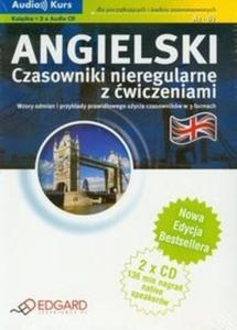 Angielski Czasowniki nieregularne z ćwiczeniami + 2 CD - 2825707889