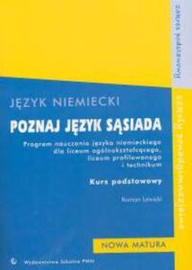 Język niemiecki Poznaj język sąsiada Program nauczania Kurs podstawowy - 2825711306