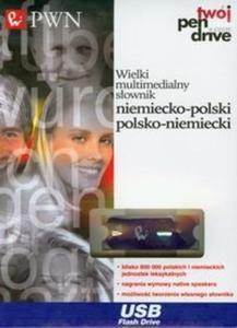 PenDrive Wielki multimedialny słownik niemiecko polski polsko niemiecki