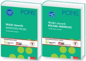 Wielki słownik Niemiecko-Polski Polsko-Niemiecki. Wersja 2-tomowa