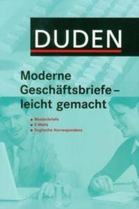 Duden Moderne Geschaftsbriefe - leicht gemach - 2825714611