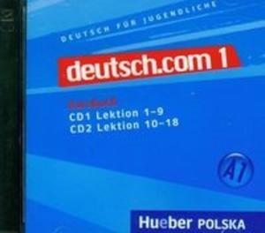Deutsch.com 1 Kursbuch (Płyta CD)